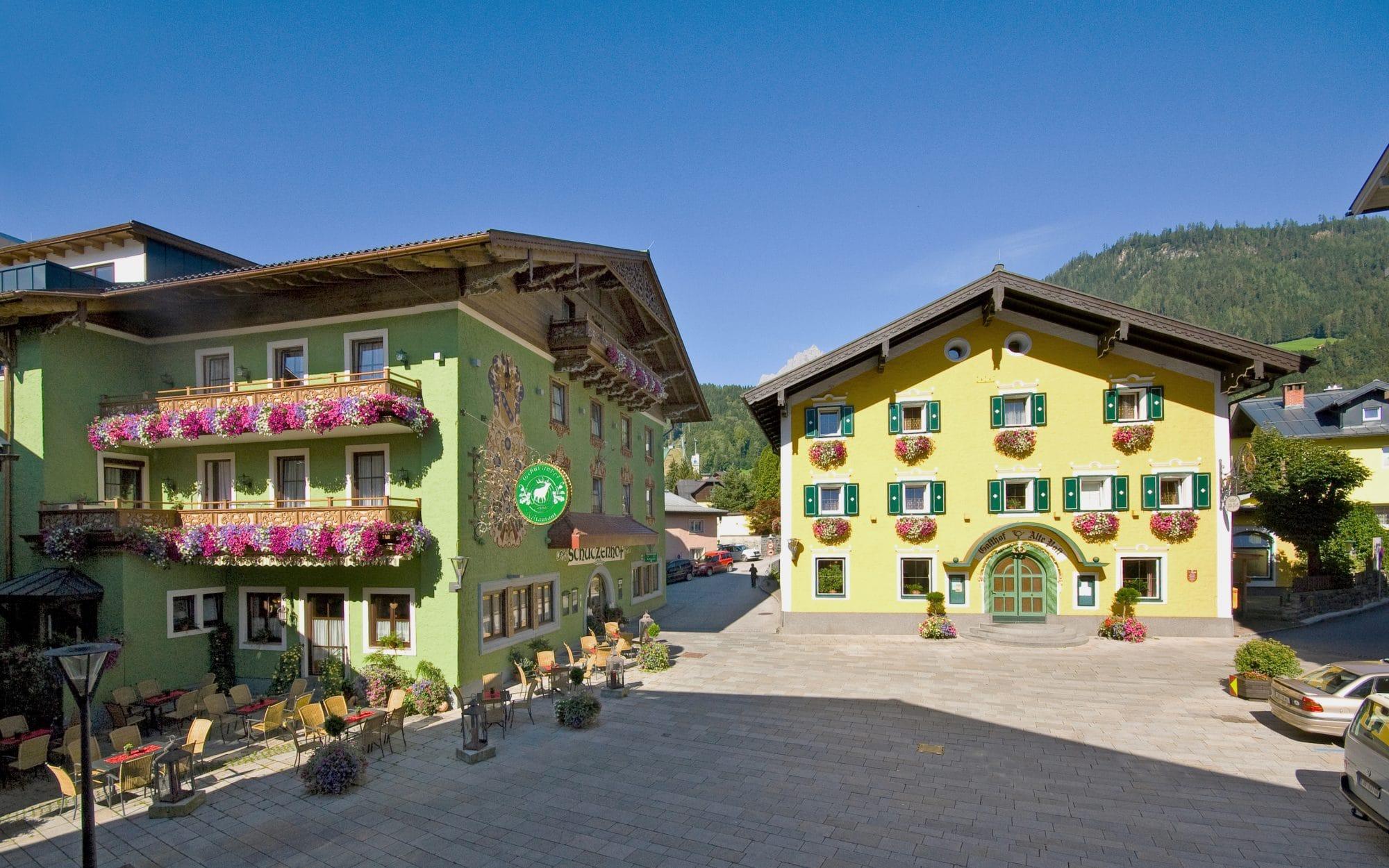 Gasthof Schutzenhof Hotel Alte Post Bischofshofen